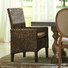 Mix-n-match Chairs - Woven Arm Chair - Hazelnut Finish