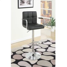 F1557 / Cat.19.p64- ADJUSTABLE BARSTOOL BLK