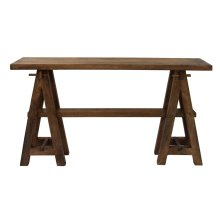 Bengal Manor Mango Wood A-Frame Narrow Console