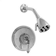 Pressure Balance Shower Set with Luxembourg Handle