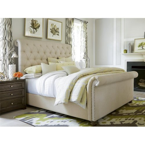 The Boho Chic Queen Bed