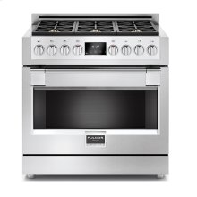 36'' Full Gas Professional Range