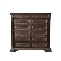 Bedford Heights 12 Drawer Master Chest in Estate Brown Product Image