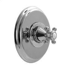 """3/4"""" Thermostatic Shower Set - Deluxe Plate with Portsmouth Handle"""