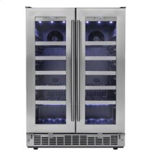 "Napa 24"" French door Wine Cooler"