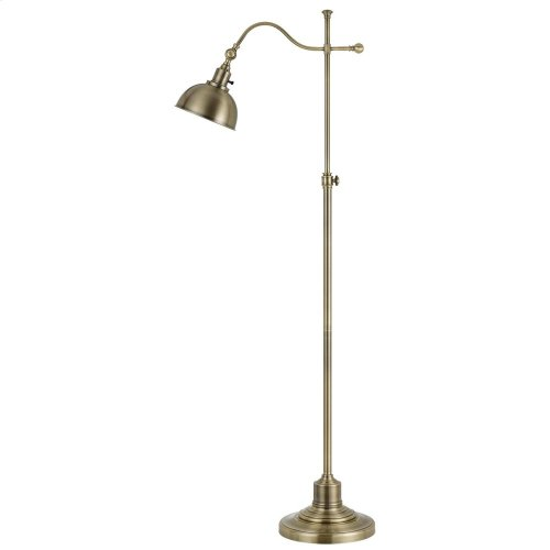 60W Portico Metal Floor Lamp