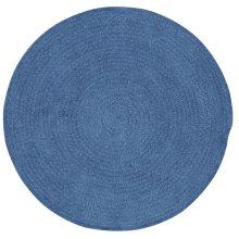 Dark Blue Chenille Creations Round
