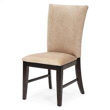 Plain Back Chair (black)