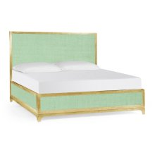 Robin's Egg & Gold US King Bed