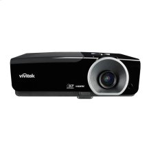 High brightness 1080p multimedia 3D projector with lens shift