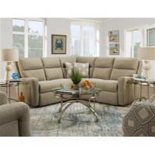 LAF Single Reclining Loveseat with Power Headrest