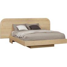 Custom Floating Style Platform Bed