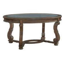 Napa Valley Oval Coffee Table