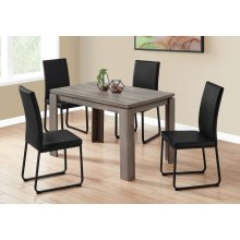 """DINING TABLE - 32""""X 48"""" / DARK TAUPE"""