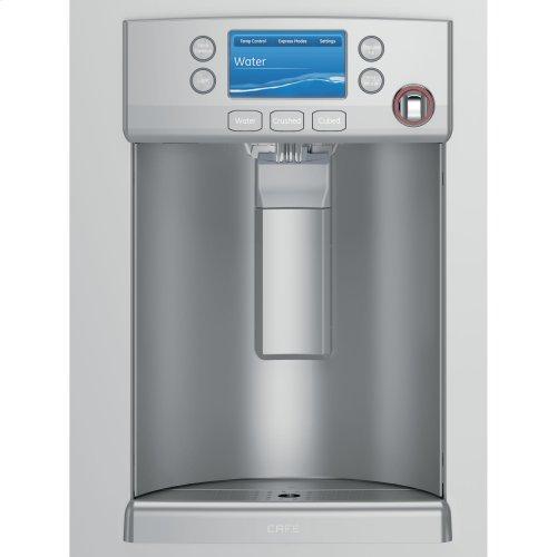 ( FLOOR LOANER MODEL) GE Cafe™ Series ENERGY STAR® 27.8 Cu. Ft. French-Door Refrigerator with Hot Water Dispenser