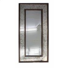 Wooden Mirror, Brown