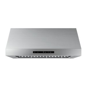 """36"""" Wall Hood, Silver Stainless Steel Product Image"""
