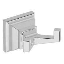 Symmons Oxford® Double Robe Hook - Polished Chrome