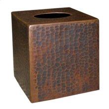 Tissue Cover in Antique Copper