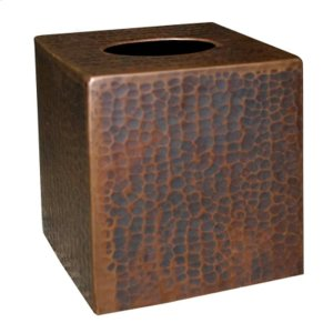 Tissue Cover in Antique Copper Product Image