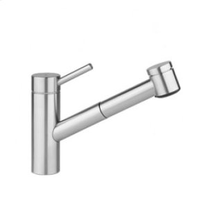 Solid Stainless Steel Single-lever Mixer Product Image