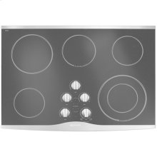 "Electric Radiant Cooktop, 30"", Stainless Steel"