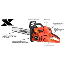 ECHO CS-620P 59.8cc Professional-Grade 2-Stroke Engine Chain Saw
