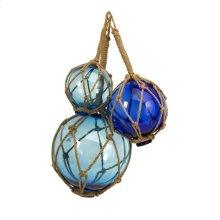 Buoyant Glass Floats - Set of 3