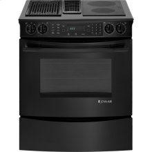 Slide-In Modular Electric Downdraft Range with Convection, 30""