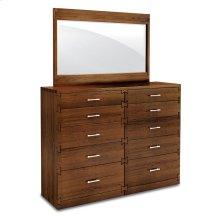 "Dovetail Bureau Mirror, Dovetail Bureau Mirror, 48 3/4""w"