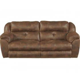 Power Headrest w/ Lumbar Power Lay Flat Reclining Sofa