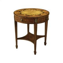 FLORAL OCCASIONAL TABLE
