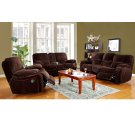 Ramsey Chocolate Reclining Set, M6012 Product Image