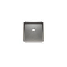 "J7® 003931 - undermount stainless steel Bar sink , 15"" × 15"" × 7"""