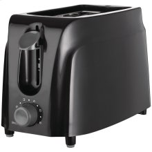 Cool-Touch 2-Slice Toaster (Black)