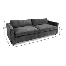 Upholstered Down Blend Sofa Frame, Unf.