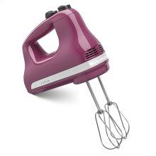 5-Speed Ultra Power Hand Mixer - Boysenberry