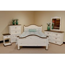 White Promo Nightstand