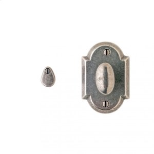 Arched Mortise Bolt Silicon Bronze Brushed Product Image