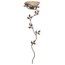 Flower Vine - 1 Light Wallchiere