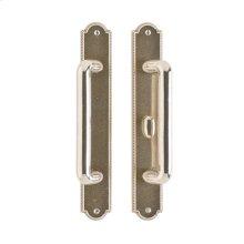 "Ellis Patio Sliding Door Set - 1 3/4"" x 11"" Silicon Bronze Brushed"