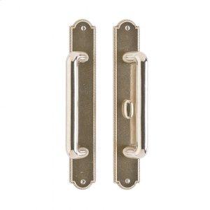 """Ellis Patio Sliding Door Set - 1 3/4"""" x 11"""" Silicon Bronze Brushed Product Image"""