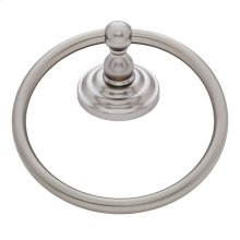 Satin Nickel Highland Towel Ring