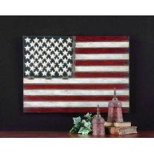 American Flag Metal Wall Decor