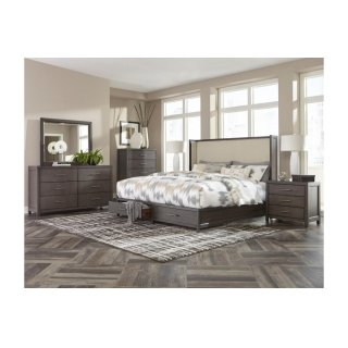 Fondren Queen Bed W/ Storage