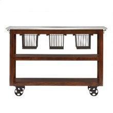Kitch Rolling Kitchen Cart