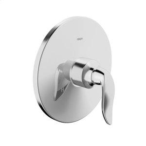 Style pressure balance valve trim kit, without diverter, chrome Product Image