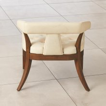 Moderno Chair-Ivory Marble Leather