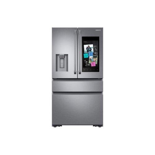 22 cu. ft. Family Hub Counter Depth 4-Door French Door Refrigerator in Stainless Steel