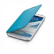 Galaxy Note II Flip Cover, LIGHT BLUE